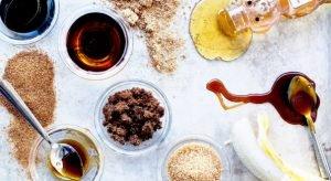 ζάχαρη, βανίλια, σιρόπια