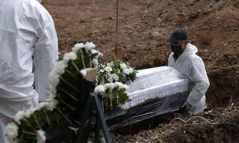Εύβοια: Ιερέας άνοιξε φέρετρο νεκρού από κορονοϊό και άρχισε να φωνάζει (video)